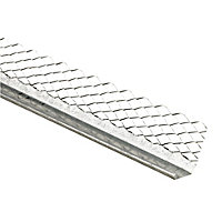 Galvanised steel Bell cast bead (L)3m (W)65mm