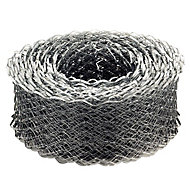 Galvanised steel Coil lath (L)20m (W)65mm