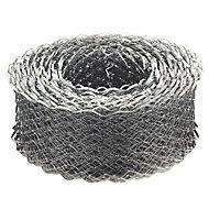 Galvanised steel Coil lath (L)20m (W)115mm