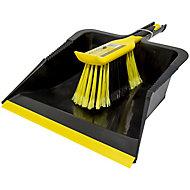 Bulldozer Black & yellow Dustpan, (W)315mm