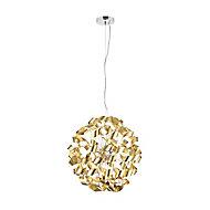 Marcela Matt Gold effect 6 Lamp Pendant Ceiling light