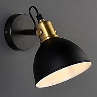 Acrobat Black Living room Wall light