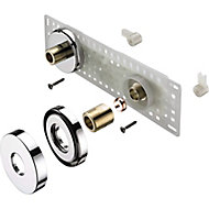 Bristan Shower accessories Brass Shower fixing kit