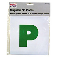 P plate Advisory sign, (H)178mm (W)178mm