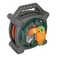 Masterplug 2 socket Cable reel, 20m