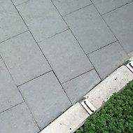 Grey Paving slab (L)600mm (W)600mm