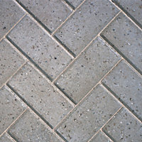 Grey Driveway Block paving (L)200mm (W)100mm, Pack of 488, 9.76 m²