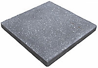 Panache Ground Midnight grey Paving slab (L)450mm (W)450mm, Pack of 40