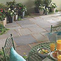 Natural sandstone Rustic grey Paving set 18.83m²
