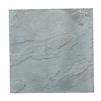 Peak Grey Paving slab (L)600mm (W)600mm, Pack of 20