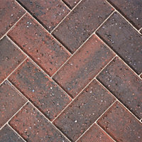 Brindle Europa Block paving (L)200mm (W)100mm, Pack of 404, 8.08 m²