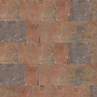 Monksbridge Red Block paving (L)200mm (W)100mm, Pack of 404
