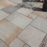 Grey Paving slab of