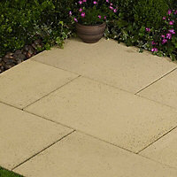 Lisse Paving slab (L)600mm (W)400mm, Pack of 32