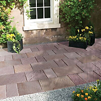 Sawn natural sandstone Modac Paving set 15.3m²