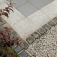 Natural Granite Black Paving set 9.06m², Pack of 720