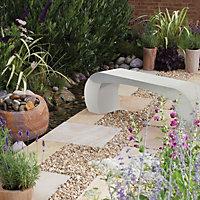 Stone Grey Bench