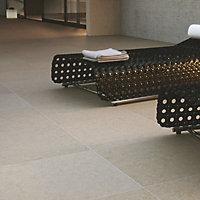 Mode porcelain Beige Paving set 21.6m², Pack of 60