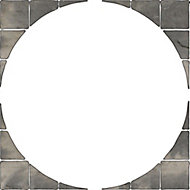 Autumn silver Old Riven Paving circle squaring off pack