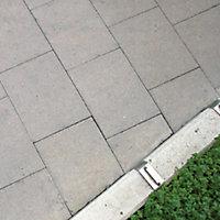 Grey Paving slab (L)900mm (W)600mm, Pack of 11