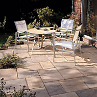 Old riven Autumn bronze Paving set 5.25m², Pack of 23