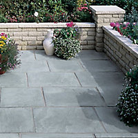 Old riven Autumn silver Paving set 5.25m², Pack of 23