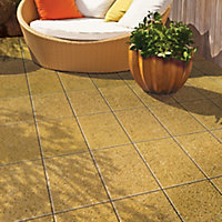 Lisse Paving slab (L)600mm (W)400mm