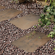 Weathered brown Stepping stone
