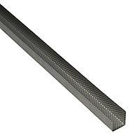 Gypframe GypLyner Steel Lining track, (L)3.6m