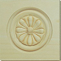 5015725201279 CARVED CORNER BLOCK FLOWER 1 PACK