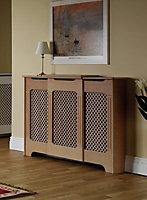 Adjustable radiator cabinet small-medium 975-1425X918X220mm Mdf