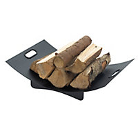 Slemcka Contemporary Log rack (H) 120mm (D)360mm