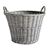 Slemcka Contemporary Log basket (D)450mm
