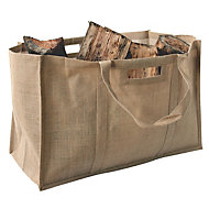 Slemcka Contemporary Jute Bag (H)410mm (D)310mm