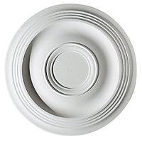 Artex Expression Plaster Ceiling rose, (Dia)360mm
