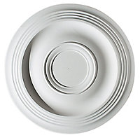 Artex Expression Plaster Ceiling rose, (Dia)360mm
