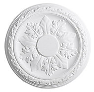 Artex Cavendish Classic Plaster Ceiling rose, (Dia)360mm