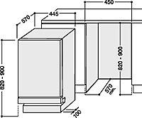 Hotpoint FDYF 11011 P Integrated White Slimline Dishwasher