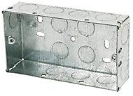 Appleby 35mm Steel Double Knockout box