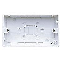 MK 30mm Double Pattress box