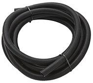 MK PVC 20mm Black Flexible conduit length, (L)10m