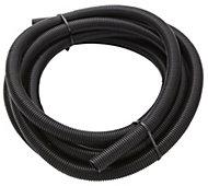 MK PVC 25mm Black Flexible conduit length, (L)5m