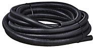 MK PVC 25mm Black Flexible conduit length, (L)10m