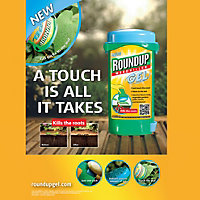 Roundup Gel Ready to use Weed killer 150ml