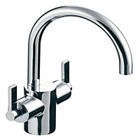 Ideal Standard Silver 1 Lever Basin mixer tap