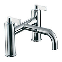 Ideal Standard Silver Chrome effect Bath mono mixer tap