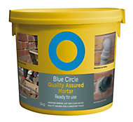 Blue Circle Quality assured Ready mixed Mortar, 5kg Tub