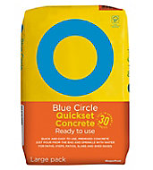 Blue Circle Quick set Ready mixed Concrete, 20kg Bag
