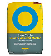 Blue Circle Quality assured Ready mixed Mortar, 20kg Bag