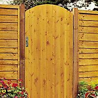 Grange Timber Arch Gate, (H)1.8m (W)0.9m